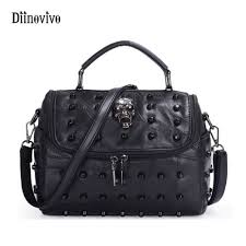 DIINOVIVO Solid Luxury Youth Leather <b>Messenger Bags Casual</b> ...
