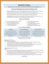 Small Business Owner Resume Sample 22 Resume Template Business