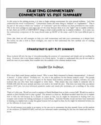 teaching students how to write commentary for the literary commentary blog pic 1 png