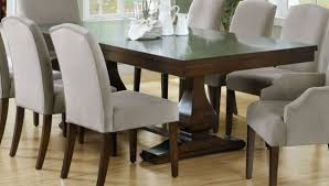 dark wood dining room furniture. dinning roomselegant dining set with dark wood explandable wooden table and gray upholstered room furniture r