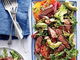 Cooking Light Seared Sliced Beef Sirloin 14 Oz 40 Great Steak Salads Myrecipes Myrecipes