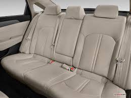 2017 hyundai sonata rear seat