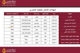 """Bank of Egypt certificate 1 2 3 years"""" The interest rates of the New Bank  of Egypt certificates 2021 compared to the certificates of Al-Ahly Bank –  Archyworldys"""