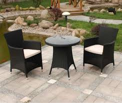 Black Wicker Patio Furniture VT83D05