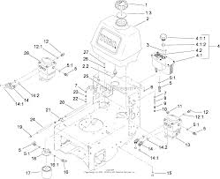 Toro professional 30288 mercial walk behind mower floating deck diagram fuel system hydro pump and filter