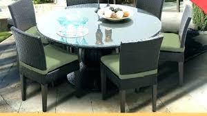 6 person round patio table audubon 6 person aluminum patio dining set with aluminum table