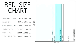 Bed Dimensions Chart Full Queen Size Bed Full Size Bed