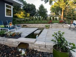 patio water feature ideas