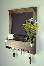 decorative wall mounted key hooks entry wall organizer chalkboard mail phone key hooks mirror decorative wall decorative wall mounted