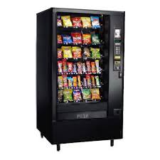 Vending Machine Credit Card Processing Extraordinary Used Automated Products 48 Snack Vending Machine
