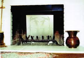 rmr fireback in fireplace