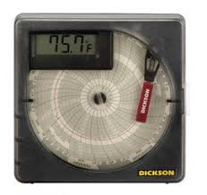 Dickson Vfc70 Temperature Chart Recorder With Digital Display 7 Days