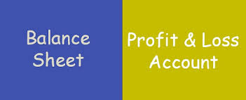Profit And Lost Sheet Difference Between Balance Sheet And Profit Loss Account