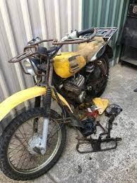 vine 1980 yamaha ag 175 motor bike