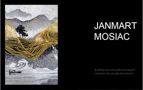 handmade diy mosaic art seashell living