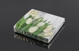 <b>Салфетки бумажные Bouquet Original</b> с рисунком 2-слойные ...