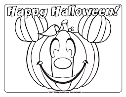Small Picture Mickey and Friends Halloween 1 Free Disney Halloween Coloring