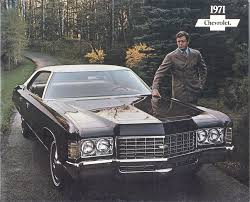 GM 1971 Chevrolet Sales Brochure
