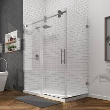 ove decors sydney 78 75 in h x 30 25 in w shower glass panel