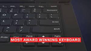Lenovo ThinkPad Lift N Lock Keyboard - YouTube