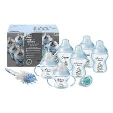 Tommee Tippee Decorated Bottles Blue