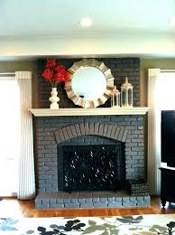 refinishing fireplace mantel ed painting fireplace mantel grey refinishing fireplace