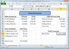forecast model in excel monte carlo simulation tutorial example solver