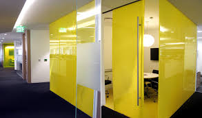 Yellow Office Westfield Offices Yellow Conference Room Panelite