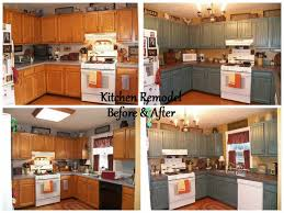 painted brown kitchen cabinets before and after. Beautiful Valspar Cabinet Paint On The Doors Used Cabinets Wood Pinterest Painted Brown Kitchen Before And After T