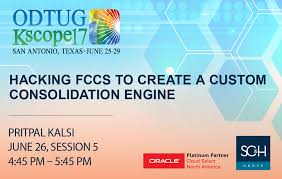 """SC&H Group on Twitter: """"T-Minus 1 Hour to """"Hacking #FCCS to Create a Custom  Consolidation Engine"""" from Pritpal Kalsi. Session 5 in Grand Oaks C/D  @odtug #Kscope17… https://t.co/MgMlXOrRRZ"""""""