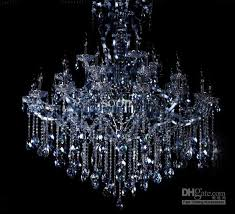 modern european style luxury blue k9 crystal chandelier hotel regarding incredible house blue crystal chandelier ideas
