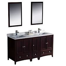 Traditional double sink bathroom vanities Fresca Fresca Fvn20241224mhfft3811ch Oxford Traditional Double Sink Bathroom Vanity 60 Amazoncom Fresca Fvn20241224mhfft3811ch Oxford Traditional Double Sink