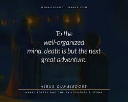 Daily Quotes From Harry Potter's World Stunning Daily Death Quotes