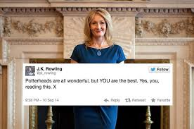 times j k rowling was the undisputed queen of twitter