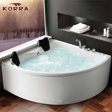 acrylic spa bathtub with massage air bubble function