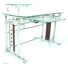 all glass desk glass and chrome com desk luxury all glass desk furniture fetching glass top office desk glass desk cover
