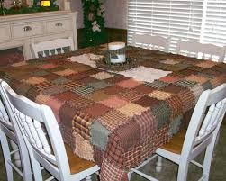 Tablecloth - Jubilee Homespun Projects & Homespun Ragged Patchwork Tablecloth. Picture. Ragged homespun tablecloths  ... Adamdwight.com