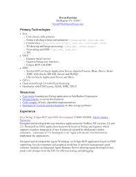 Resume Sample Java Developer Therpgmovie