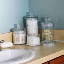 Anchor Hocking Glass Apothecary Jar Canister Set With Ball Lid 4