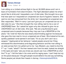 muslim w felt hatred on united flight so what sgberman screen shot 2015 05 30 at 10 32 40