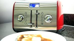 toaster kitchenaid kitchenaid toaster oven red