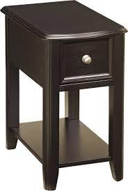 black cherry leick lamp um furniture chairside table with drawers in amazing broyhill pretty wedge end drawer cappuccino wood shaped