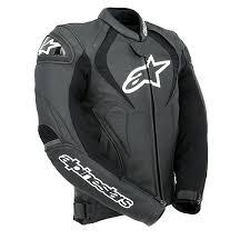 alpinestars jaws leather jacket black thumb 2