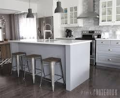 diy kitchen island ikea.  Ikea Large DIY Kitchen Island Via Pinklittlenotebookcom Throughout Diy Kitchen Island Ikea D