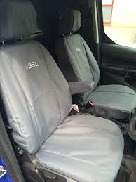 ford transit connect 2016 on premium fit tailored van seat covers single single