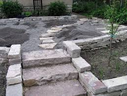 diy stone steps diy do it your self