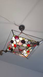 modern hanging lamp tiffany lamp stained glass lamp contemporary chandelier