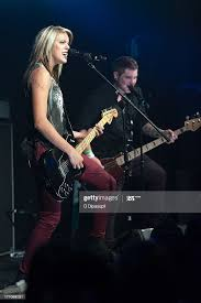 """Kristin Kearns and Dustin McCoy of Darling Parade perform at a """"Crazy...  News Photo - Getty Images"""