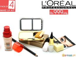 stan tiptoptime l oreal paris professionnel make up pack of 4 kit for her in just