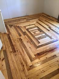 reclaimed pallet wood flooring and laying pallet wood flooring